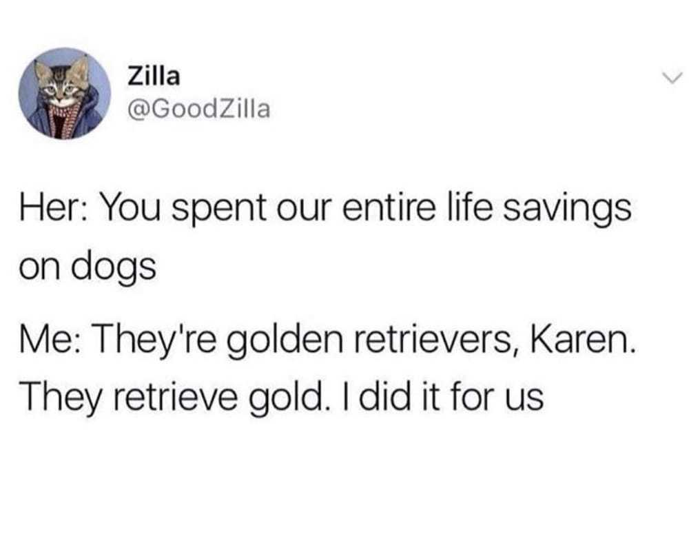 Golden Retriever Joke
